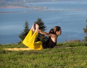 Yoga Asana Bogen Bow